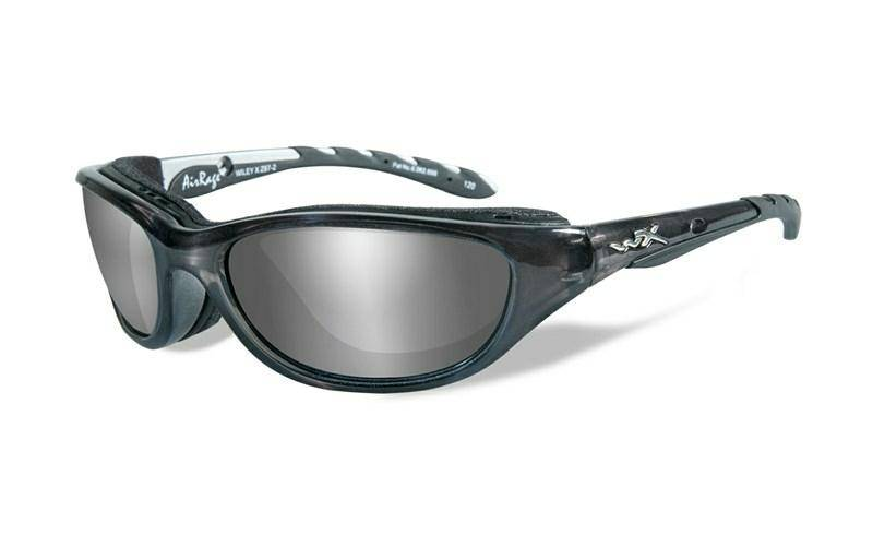 картинка Очки WX AIRRAGE Polarized – Silver Flash – Smoke Grey Crystal Metallic от магазина av-tactical