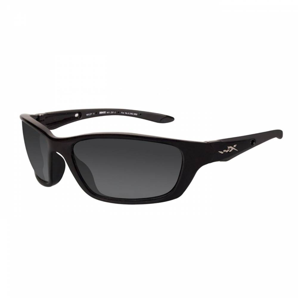 картинка Очки WX Brick, Gloss Black Frame, Polarized Smoke Lens от магазина av-tactical