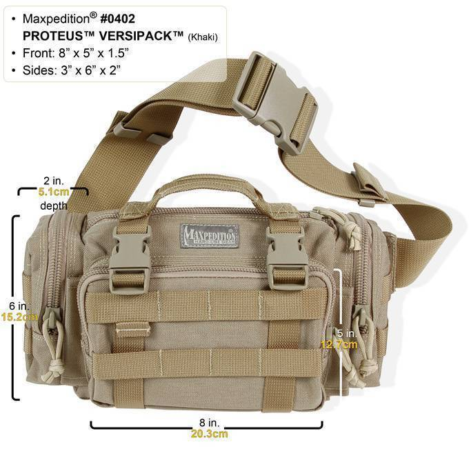 картинка Сумка Maxpedition Proteus Versipack   от магазина av-tactical