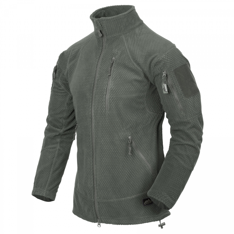 Куртка флисовая Helikon ALPHA TACTICAL Grid Fleece