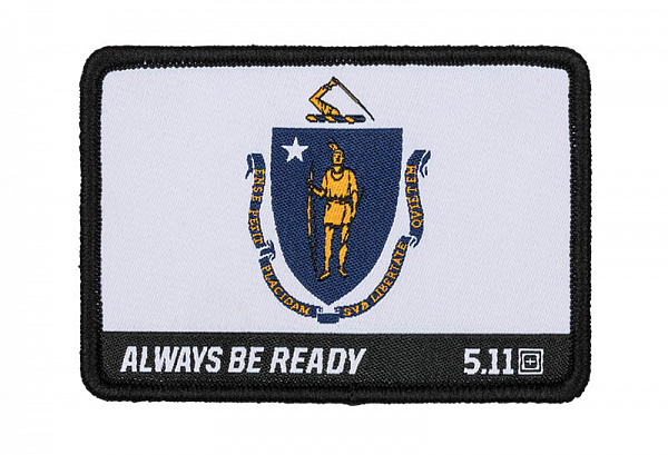 картинка ПАТЧ 5.11 MASSACHUSETTS FLAG от магазина av-tactical